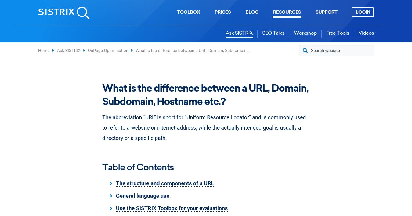What Is The Difference Between A Url Domain Subdomain Hostname