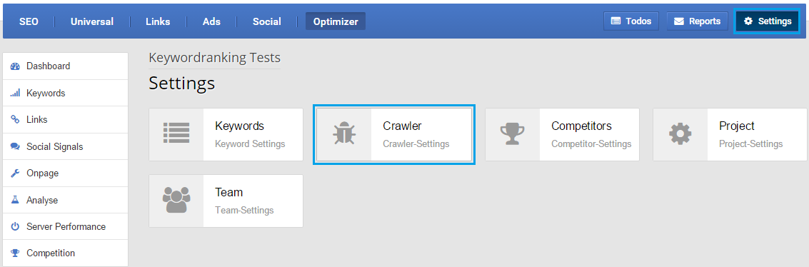 optimizer_crawler-setting