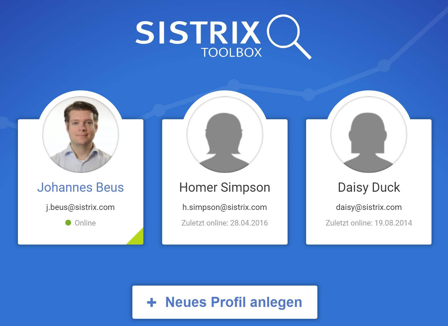 Profiles for your co-workers in the SISTRIX Toolbox - SISTRIX