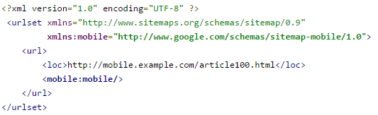 Mobile-XML-sitemap: They are used only by search engines and point to URLs specifically developed for feature-phones