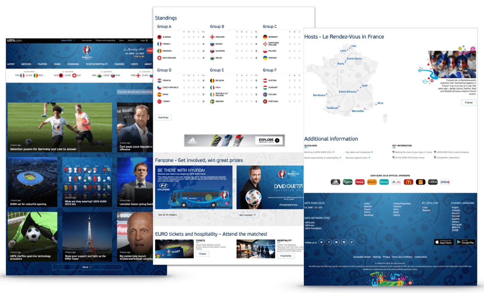 Content on Uefa.com