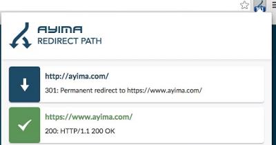 Ayima Redirect Path - Browser Addon