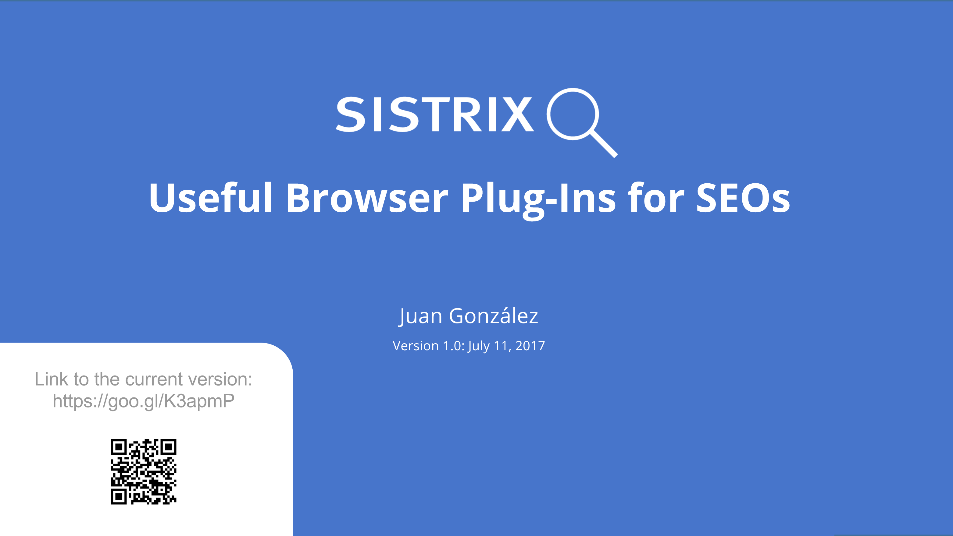 16 Useful Browser Plug-Ins for SEOs