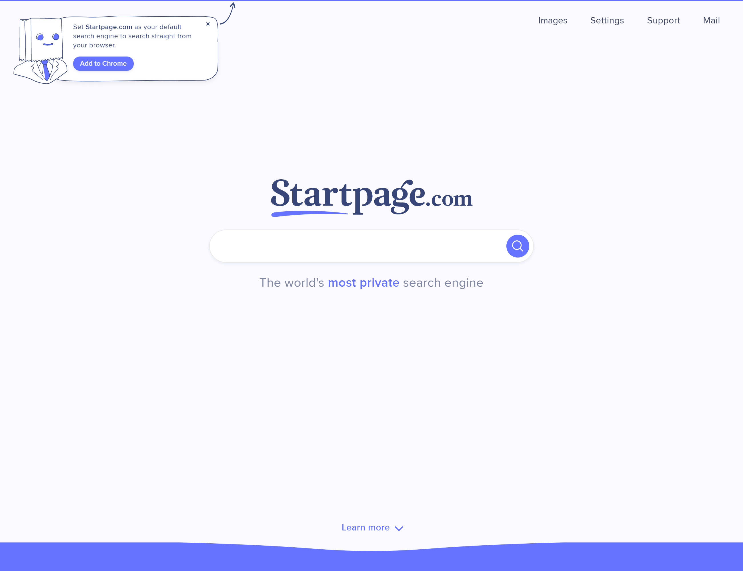Startpage browser