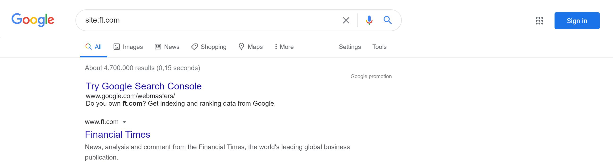 Site URLs