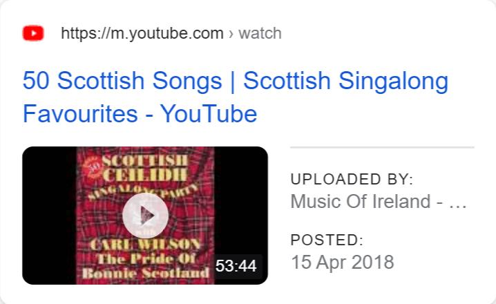 Video result