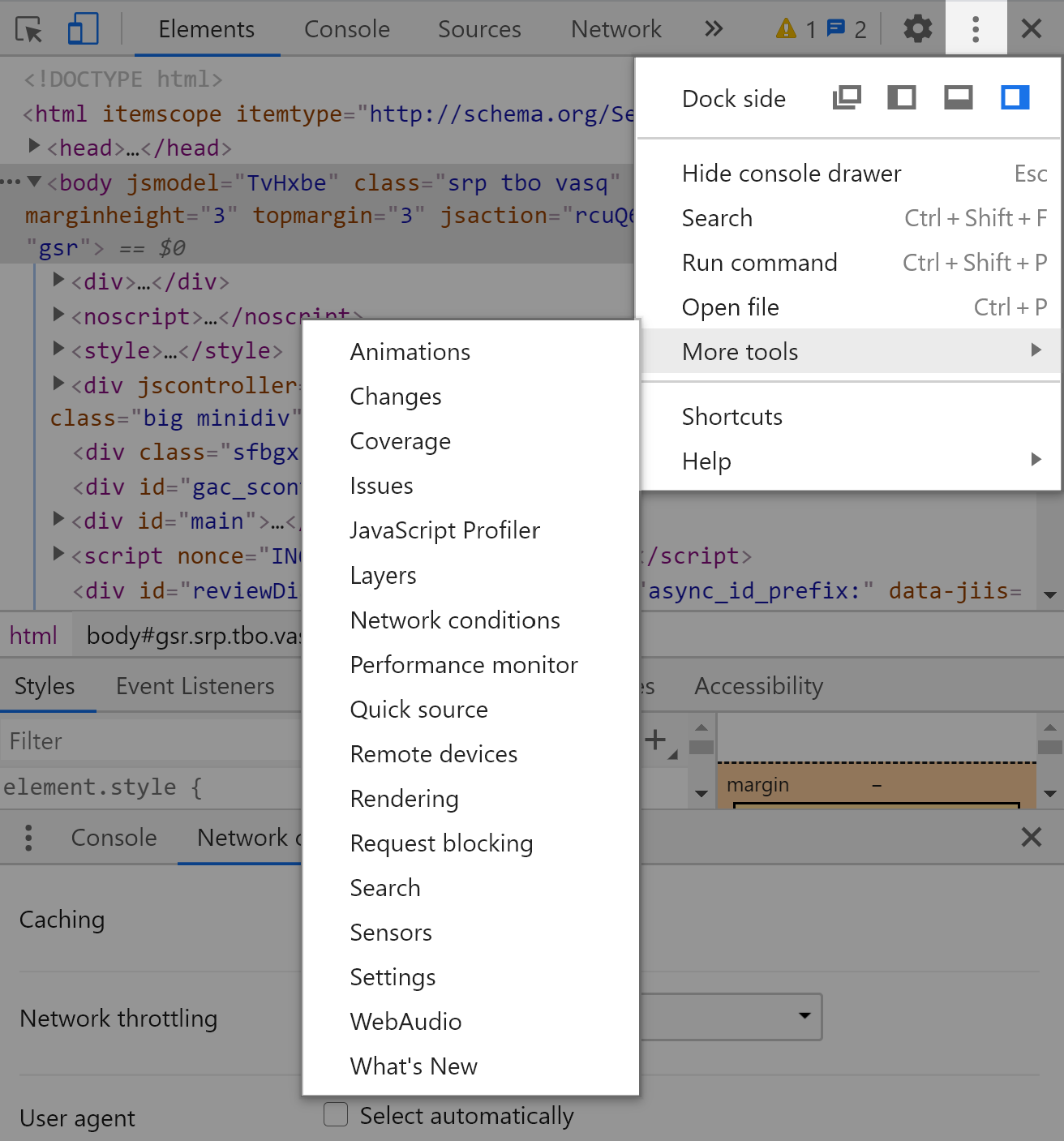 Using Chrome developer tools to change the agent -id string