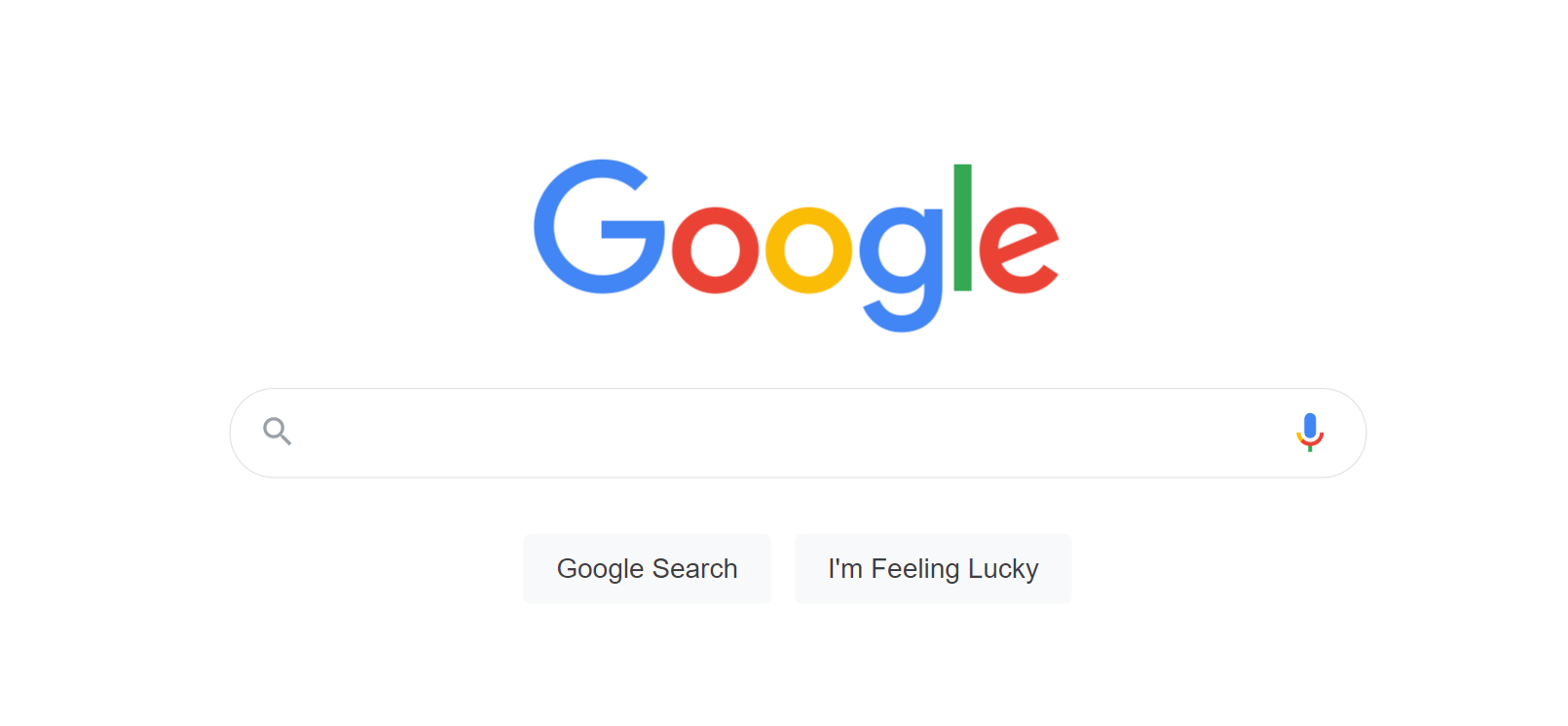 Image of google search page.
